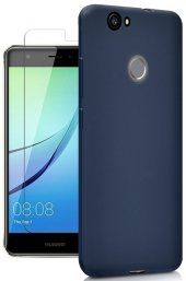 Huawei Nova Silikon Slim Premier Kılıf + Kırılmaz Cam-3