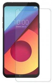 LG Q6 Delikli Silikon Kılıf + Nano Kırılmaz Cam-2