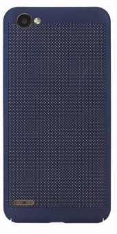LG Q6 Delikli Silikon Kılıf + Nano Kırılmaz Cam-4