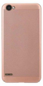 LG Q6 Delikli Silikon Kılıf + Nano Kırılmaz Cam-6