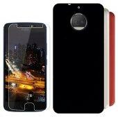 Motorola Moto G5s Plus Silikon Kılıf + Nano Kırılmaz Cam