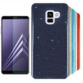 Samsung Galaxy A8 2018 Kılıf Simli Shining...
