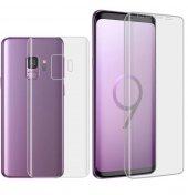 Samsung Galaxy S9 S9 Plus Ekran Koruyucu Ön Arka Jiletin-6