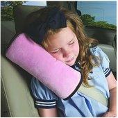 Araç Oto Emniyet Kemer Tutucu Uyku Pedi Yastık Oto Elyaf Boyunluk