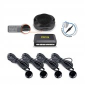 Automix Park Sensörü Sesli İkazlı Siyah