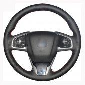 Honda Civic 10 2016 Sonrası Araca Özel Direksiyon Kılıfı