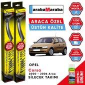 Opel Corsa 2000 2006 Arası Silecek Takımı