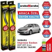 Subaru Impreza Sedan 2007 2011 Arası Silecek Takımı