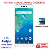 General Mobıle Gm 9 Go 16 Gb Dual Silver...