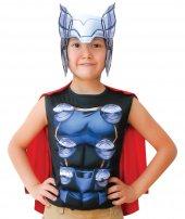 MEGA OYUNCAK |Thor Pelerinli Üst Kostüm 10-12 Yaş