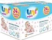 Uni Wipes Islak Bebek Havlusu 90 Lı 24 Paket...
