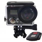 4k Uhd Wifi Kumandalı Çift Ekranlı Aksiyon Kamera ...