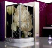Çiçek Modelli Duşakabin Kaplama Folyoları-2