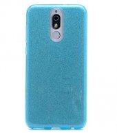 Edelfalke Huawei Mate 10 Lite Shining Silikon Kılıf Mavi
