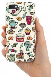 Apple iPhone 7 Kılıf Tea Time Serisi Ayla-3