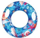 Deniz Altı Desenli Simit 90 Cm 1809017