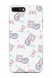 Apple iPhone 7 Plus Kılıf Kitty Serisi Andrea