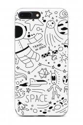 Apple iPhone 7 Plus Kılıf Space Serisi Michelle