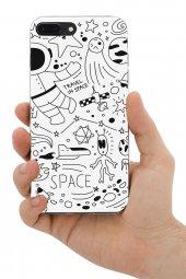 Apple iPhone 7 Plus Kılıf Space Serisi Michelle-3