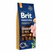 Brit Premium Nature Tavuklu Orta Irk Yetişkin...