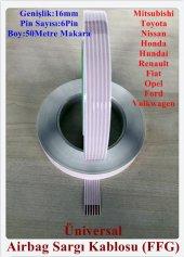 Nissan 6 Pin Airbag Sargı Kablosu 16 Mm (Ffg)