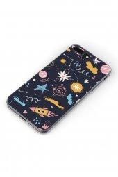 Apple iPhone 8 Plus Kılıf Space Serisi Alana-2