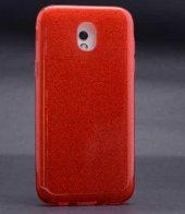 Edelfalke Galaxy J330 Pro Shining Silikon Kılıf Kırmızı