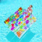 Bestway 44033 Renkli Delüx Havuz & Deniz Yatağı