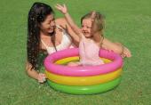 Intex 57107 3 Boğumlu Şişme Havuz (Yumuşak Tabanlı)