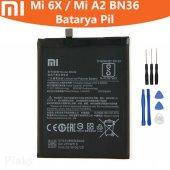 Xiaomi Mi 6x Mi A2 Bn36 Batarya Pil Ve Tamir Seti