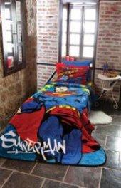 özdilek Süperman Star Tek Kişilik Battaniye