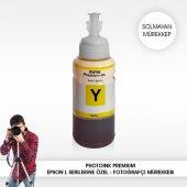 Photoink 70 Ml. Epson Uyumlu Y Yellow Solmayan...