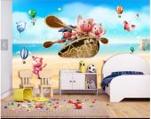 Çocuk Odası Duvar Kağıtları-4