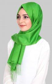 Madame Mary Tafta Şal E012 Fıstık Yeşili
