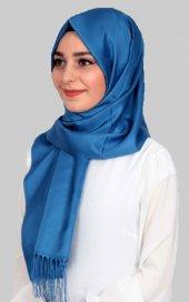 Madame Mary Tafta Şal E012 Mavi