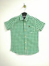 Yeşil Renkli Erkek Çocuk Gömlek Kod 355