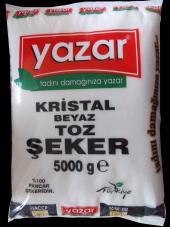 Yazar 5000 Gr Toz Şeker