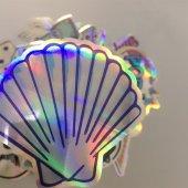 20 Adet Tekrarsız Metalik Renk Karışık Retro Sticker Çıkartma-3
