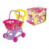Barbie Sepetli Market Arabası