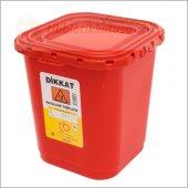 Patolojik Atık Kabı 30 Lt Kırmızı Donbox Ücretsiz Kargo