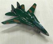 F16 Askeri Yeşil Savaş Uçağı Oyuncak Peluşcu...