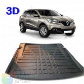 Renault Kadjar (2014 ve Sonrası) 3D Bagaj Paspası - A Kalite (Hed
