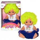 020040 Asbc Afr Bebek Renkli Kıvırcık Saçlı