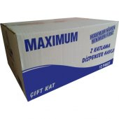 Z Katlı Dispenser Kağıt Havlu Maximum 100 Yaprak X 12 Paket