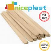 Niceplast Ahşap (Bambu) Çay Kahve Karıştırıcı 750 Adet 1 Kutu