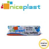 Niceplast Çöp Poşeti 80x110 Cm Kalın Jumbo 350 Gr