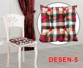 Sleeptown Sandalye Oturum Minderi Desen 5