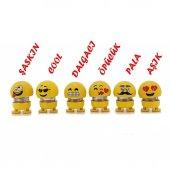Zıp Zıp Kafalar Sevimli Kafa Sallayan Emojiler Çılgın Kafalar