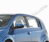 Spider Chevrolet Aveo 2(2012) Cam Çıtası 4 Prç Krom Hb