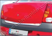 Spider Dacia Logan (05-13) Bagaj Alt Çıta Krom (Geniş)